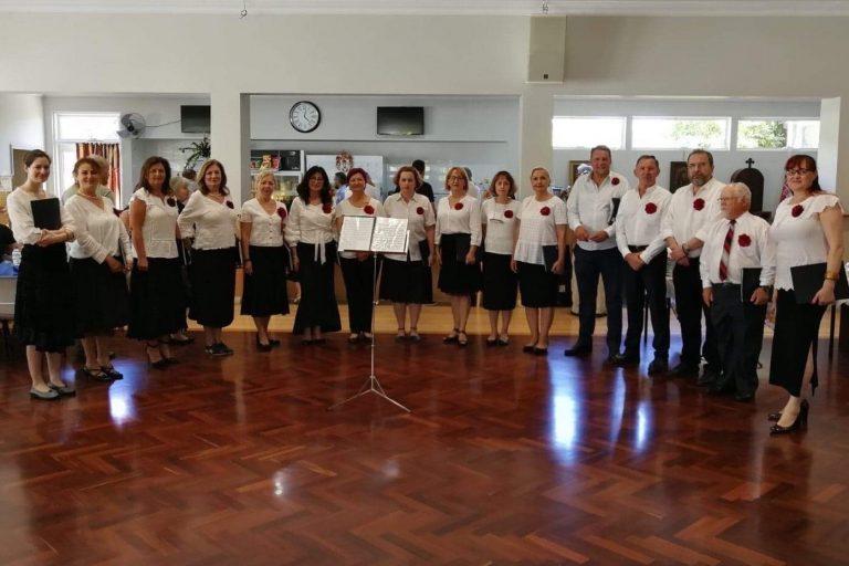 Serbian Choir Red Peonies